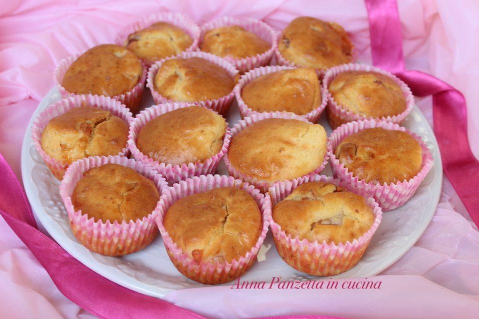 Muffin prosciutto e caciotta