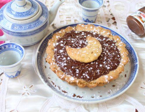 Crostatine Nutella e marmellata