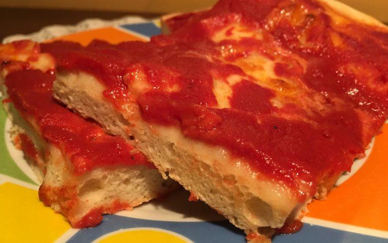 Pizza Margherita con preparato della Alpi srl
