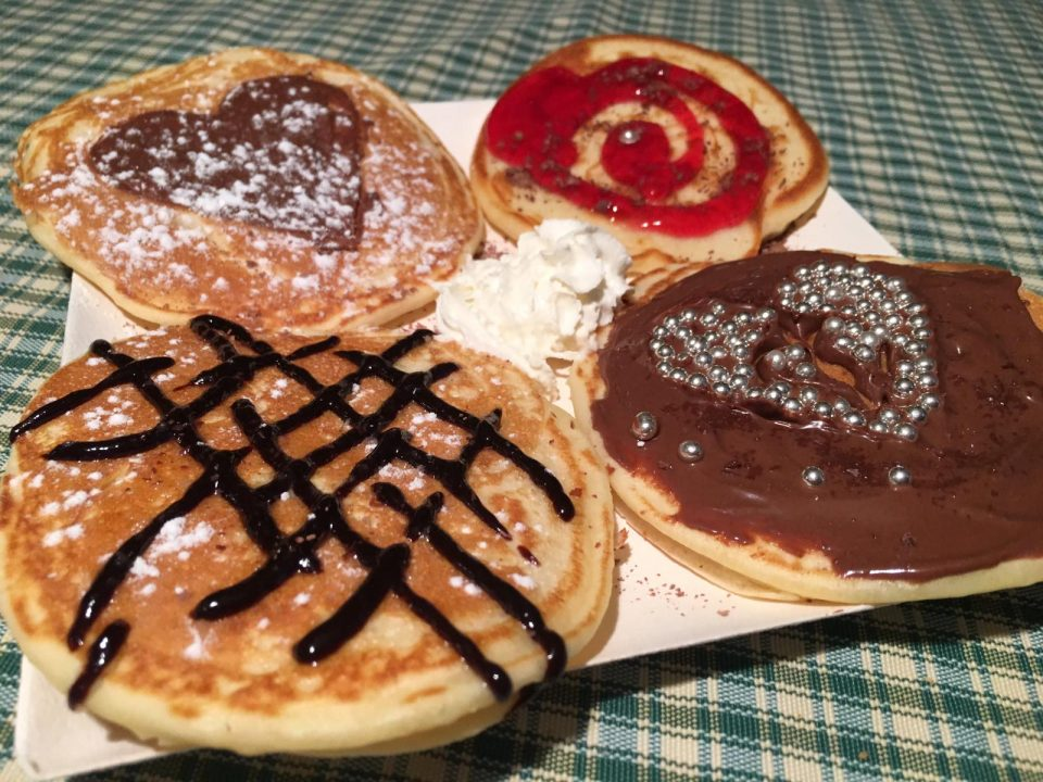 pancake preparati con preparato waffelman