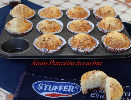 Muffin allo yogurt greco