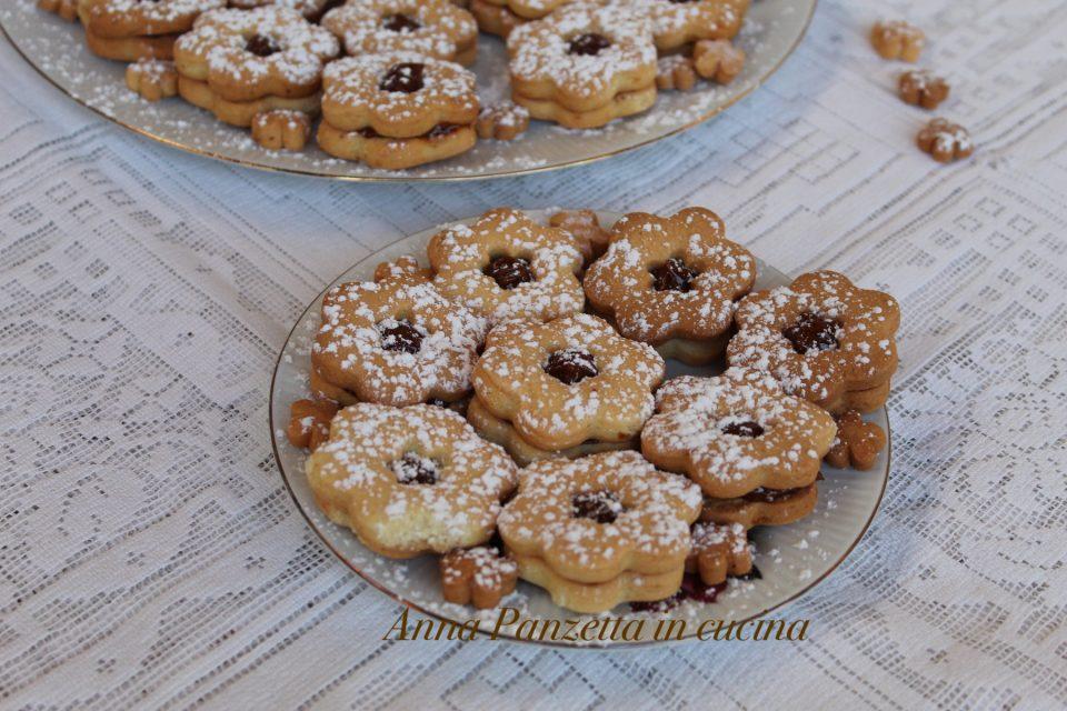 biscotti di pasta frolla perfetta e crema MOU