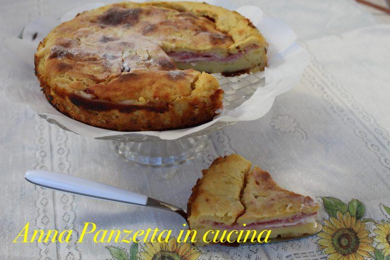 Sbriciolata di patate prosciutto e formaggio