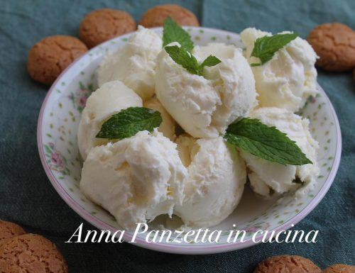Gelato alla vaniglia senza glutine